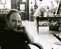 Fabelo at his studio, Havana.